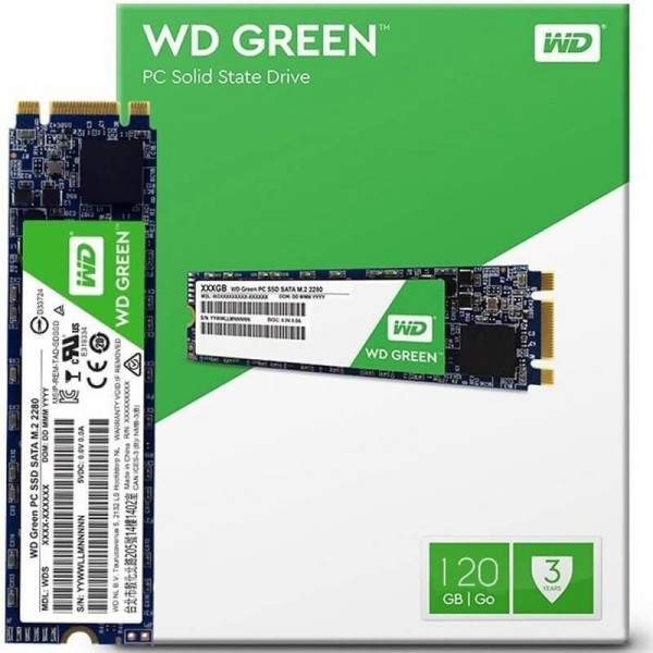 SSD M.2 WD GREEN 120GB