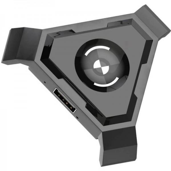 Adaptador HUB USB Para Teclado e Mouse Mobilador
