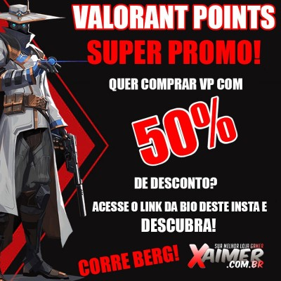 Valorant Points 50% OFF